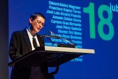 Salomé Cuesta Valero presenta a los jubilados de este año