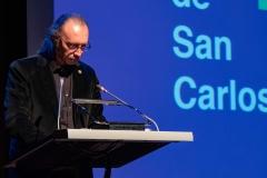 José Luis Cueto Lominchar en el discurso de clausura del acto